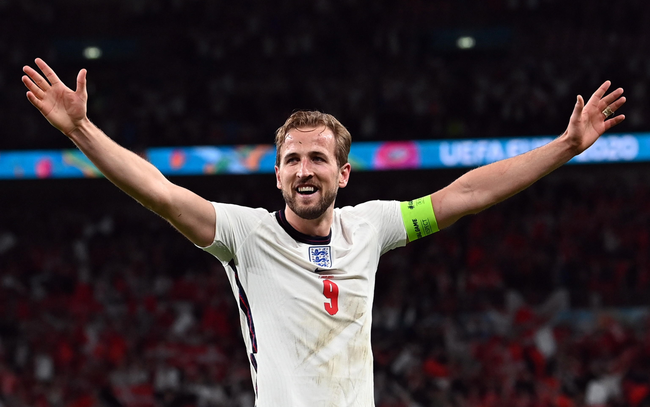 """Inghilterra, Kane fa gol e raggiunge Lineker: """"Ora battiamo l'Italia in finale"""""""